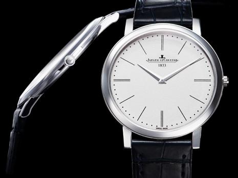 Ultra platte horloges