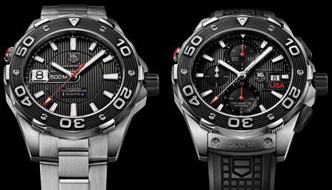 Tag Heuer Aquaracer 500M Oracle Team USA Limited Editions