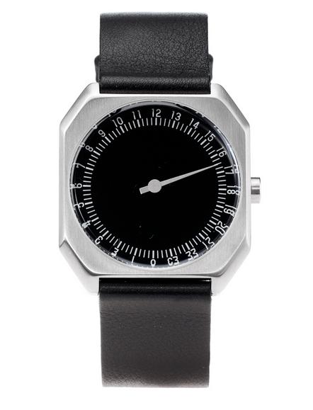 Slow-watches-zwart-staal