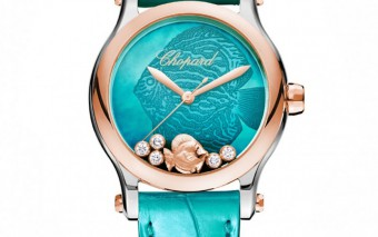 Chopard Happy Fish dameshorloge groen