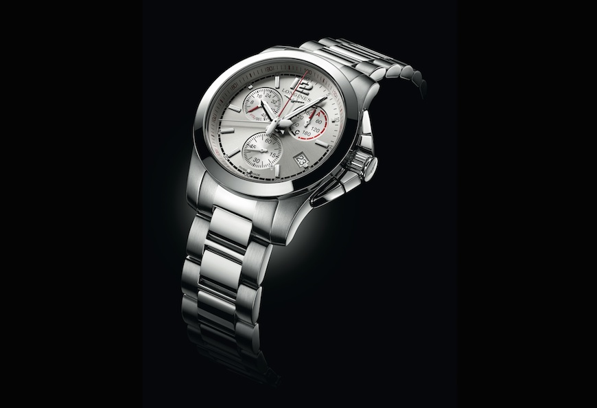 Longines Conquest Jumping herenhorloge