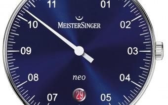 MeisterSinger Neo- Blauw- NE908N-870-1