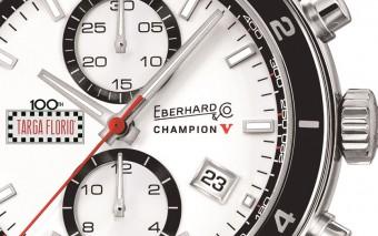 Eberhard & Co. - Champion V Targa Florio close-up