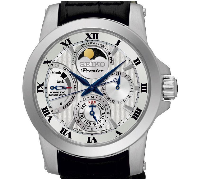 seiko premier -srx011p2--horloge