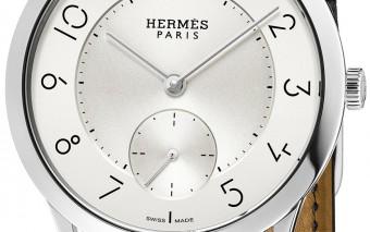 Slim d'Hermès 39 manufacture steel