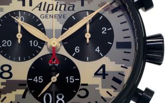 "Alpina Starttimer Pilot Big Data choronograaf ""Camouflage"""