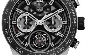 Tag Heuer Carrera Heuer-02T COSC chronograafTourbillon