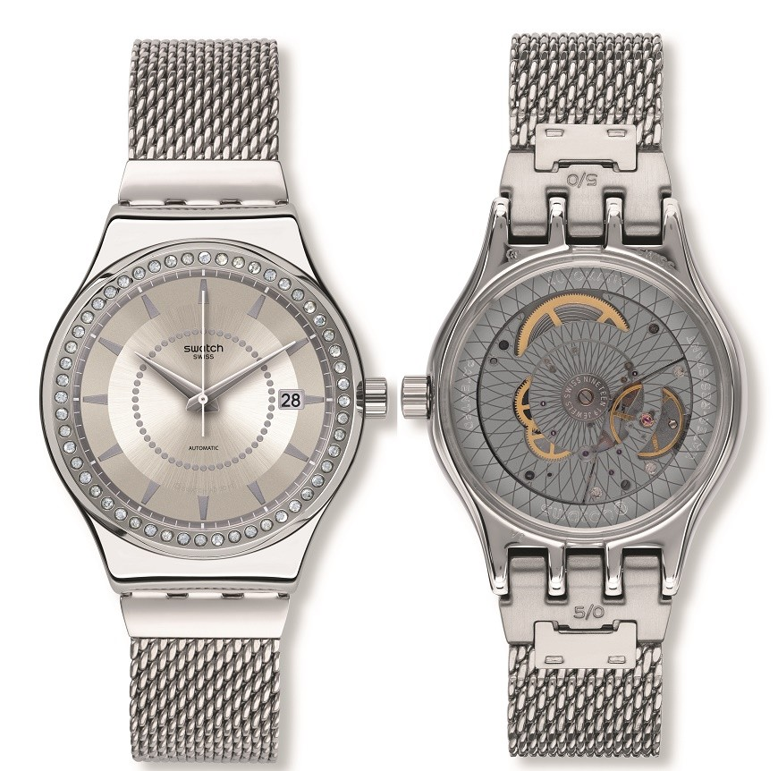 Swatch Sistem51 Irony Standard Plus; 2016 Winter; 1610 Look Fab