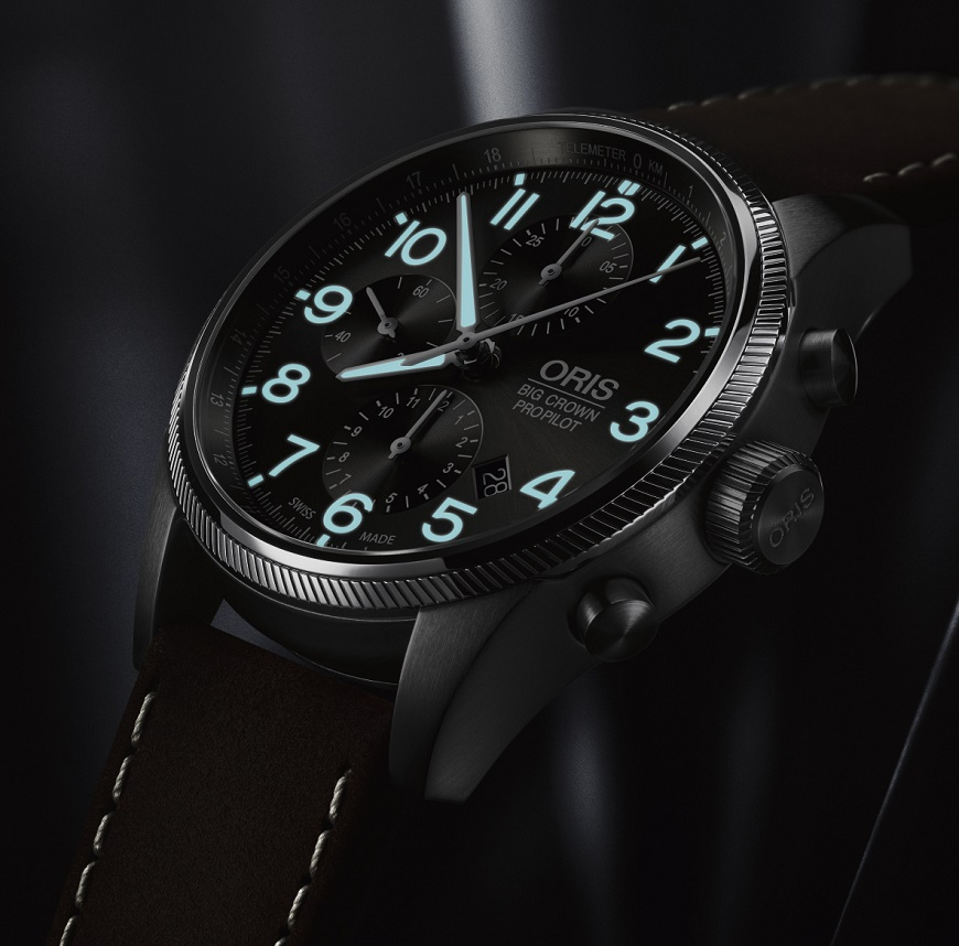 Oris Big Crown propilot Chronograaf