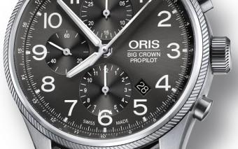 Oris Big Crown propilot Chronograaf