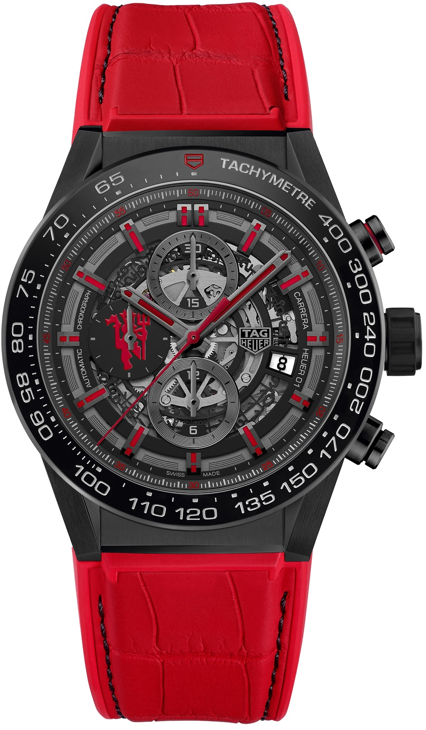 Tag Heuer Carrera CAR2A1J_FC6416 SP HEUER 01 RED DEVIL 2017 HD