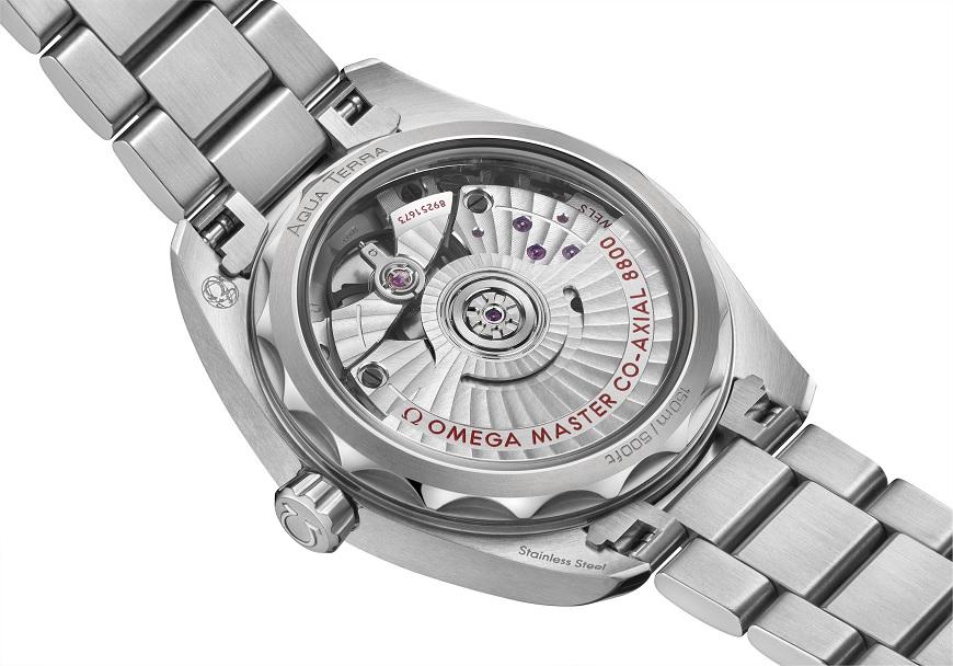 Omega Seamaster Aqua Terra Master Chronometer dameshorloge donkere kastdeksel