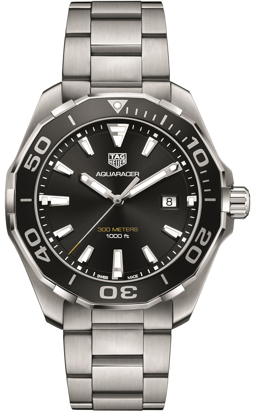 Tag Heuer Aquaracer 43 mm zwart