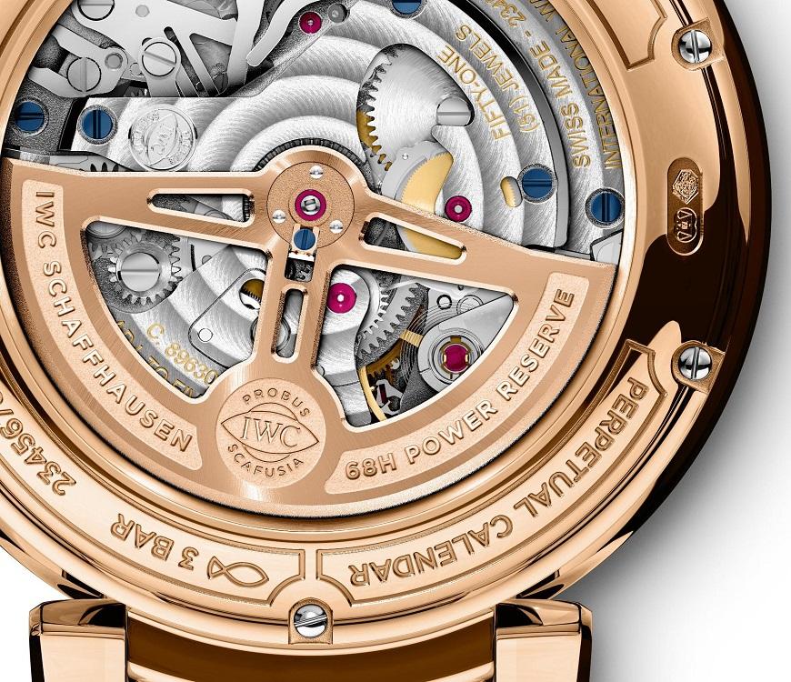 IWC Da Vinci Perpetual Calendar Chronographiw392101-back