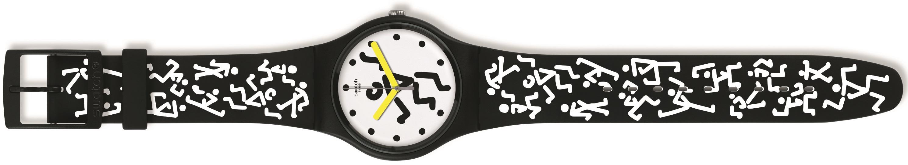 Swatch brengt werelds horloge Zanka uit met muzikaal talent Jain