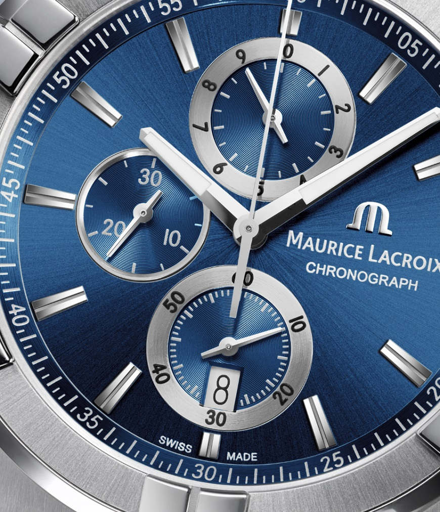 Maurice Lacroix Aikon Chrono 44mm detail