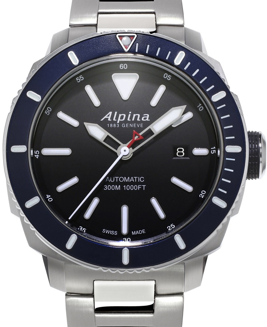 Alpina Seastrong 300 staal AL-525LBN4V6B uitgelicht