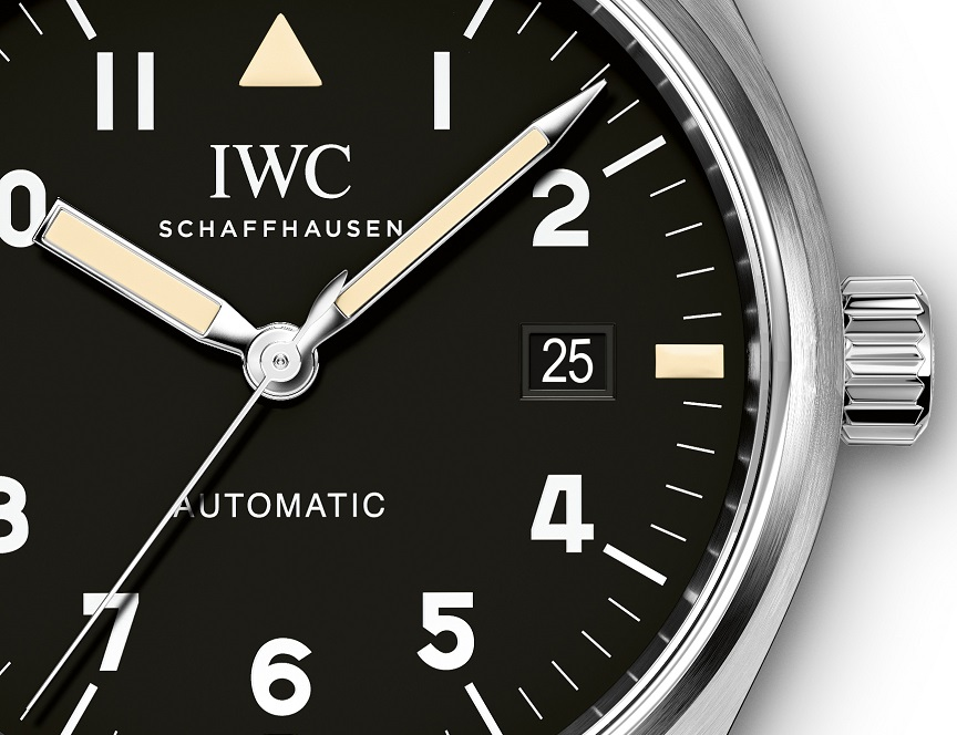 IWC Pilot's Watch Mark XVIII detail. jpg