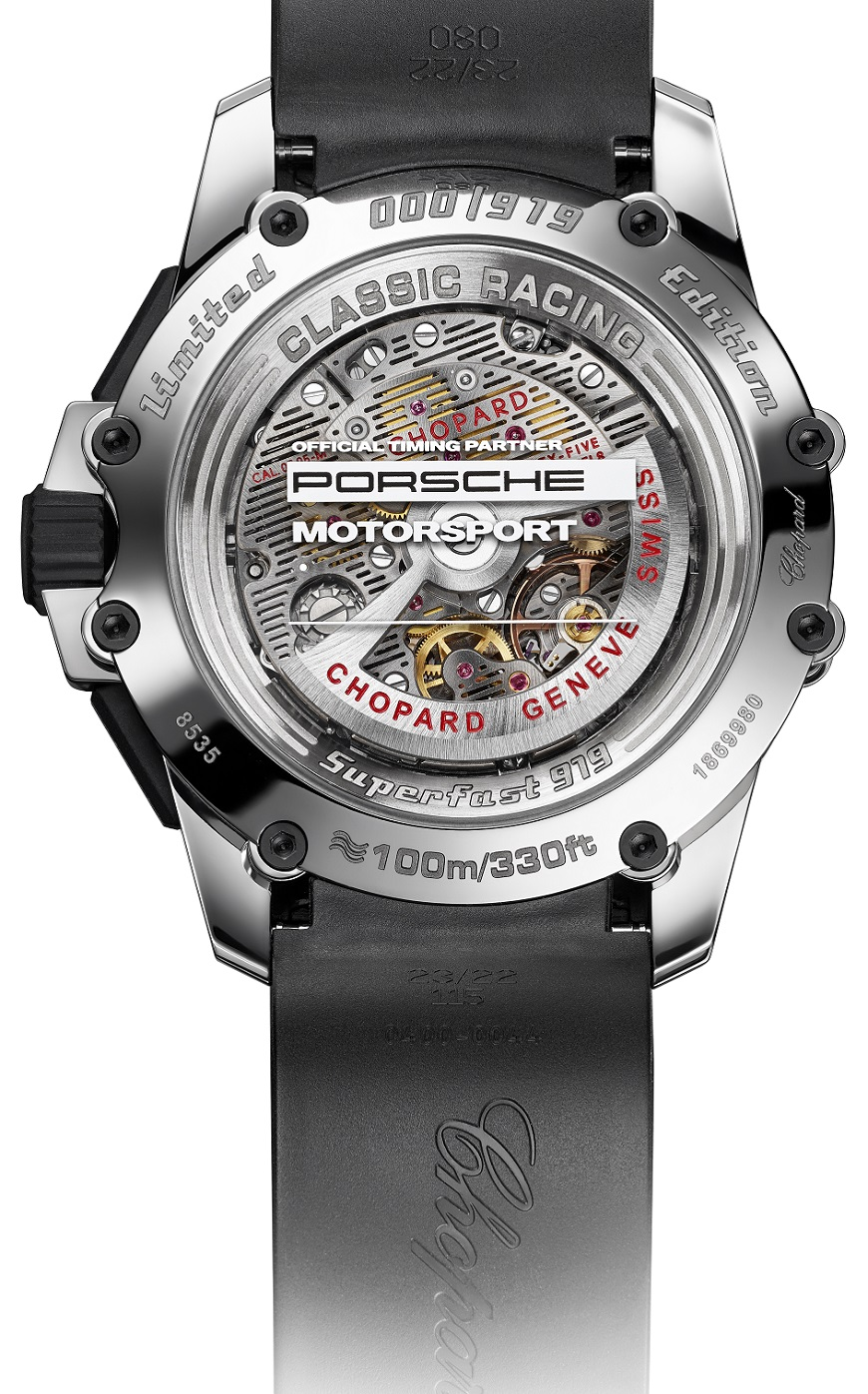 Superfast Chrono Porsche 919 Edition - Back - White Background