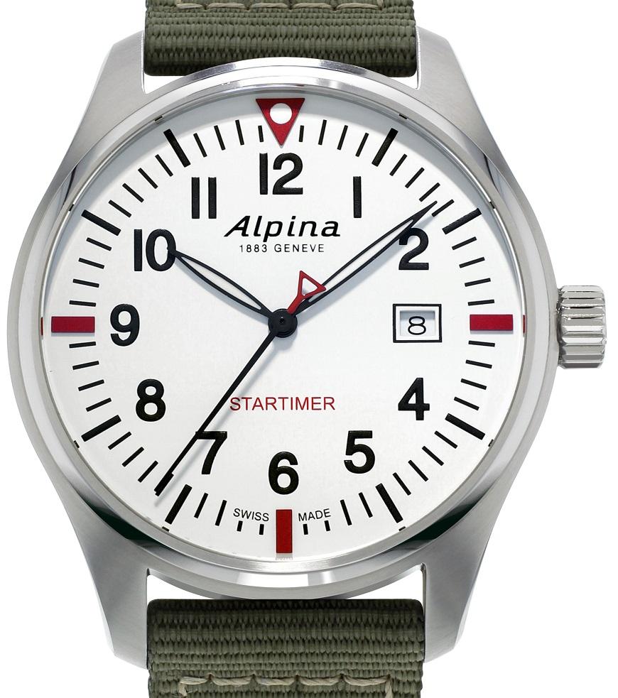 Alpina Startimer Pilot Quartz  AL -240S4S6
