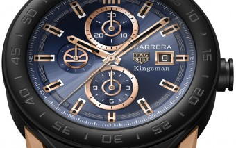 TAG Heuer SBF8A8023.32EB0103 KINGSMAN SPECIAL EDITION - BROWN LEATHER STRAP PACKSHOT 2017_dial ON
