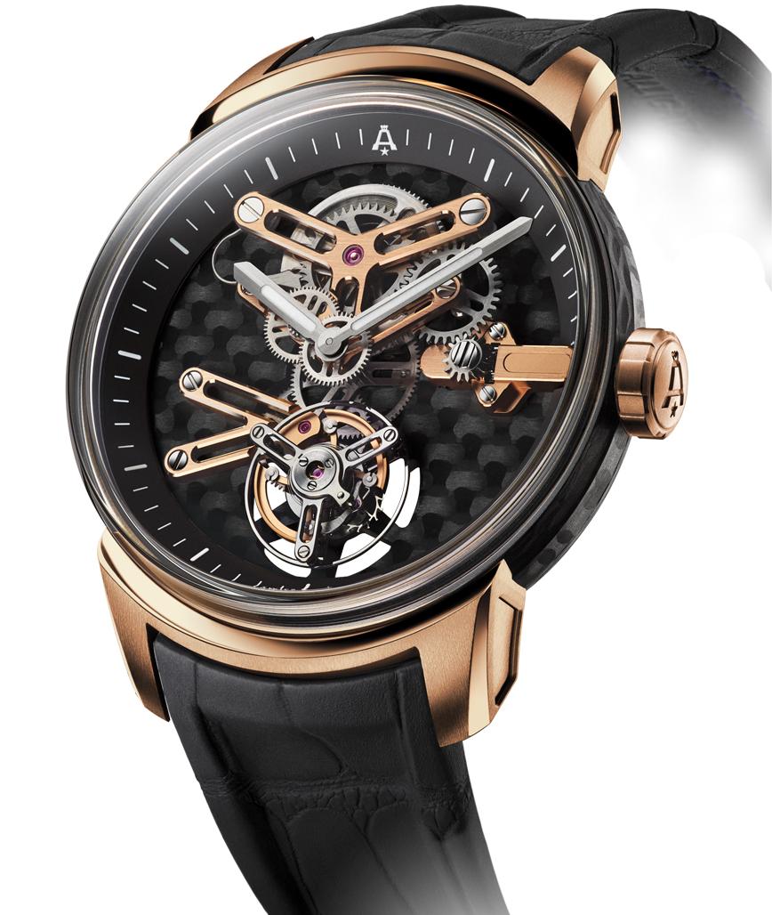 Limited edition horloge Angelus U21 en U22 Tourbillon