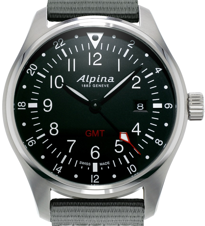 Alpina Alpina Startimer Pilot Quartz GMT-AL-247B4S6