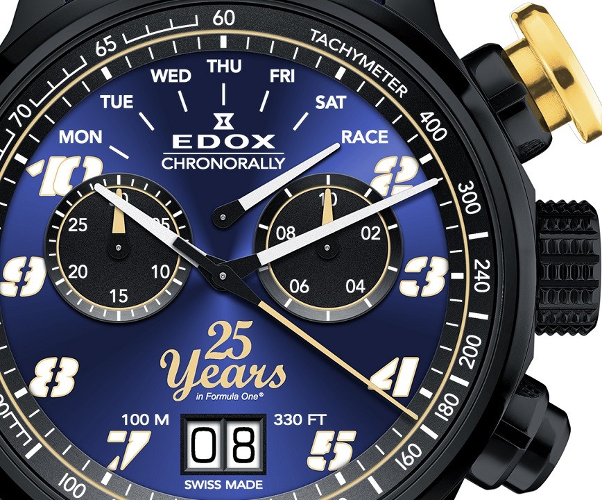 Edox Chronorally Sauber F1® team  25th Anniversary