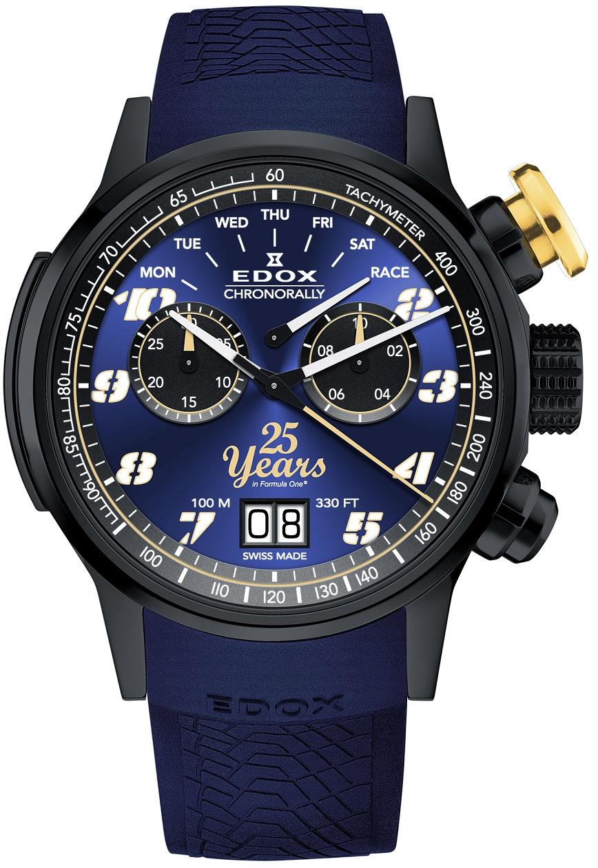 Edox Chronorally Sauber F1® team  25th Anniversary