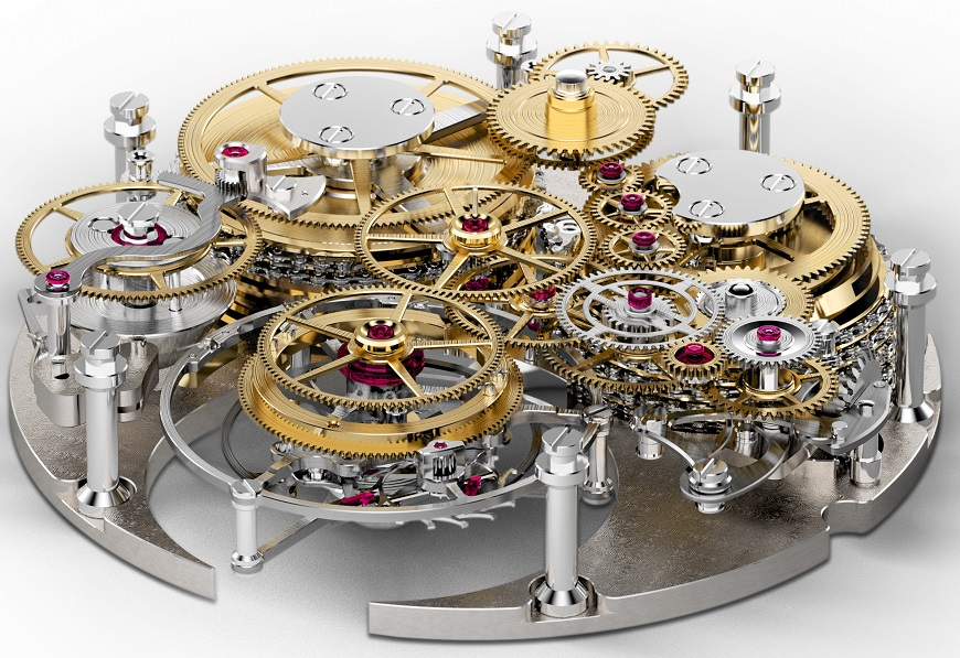 Chronomètre FERDINAND BERTHOUD FB 1.3 - open movement