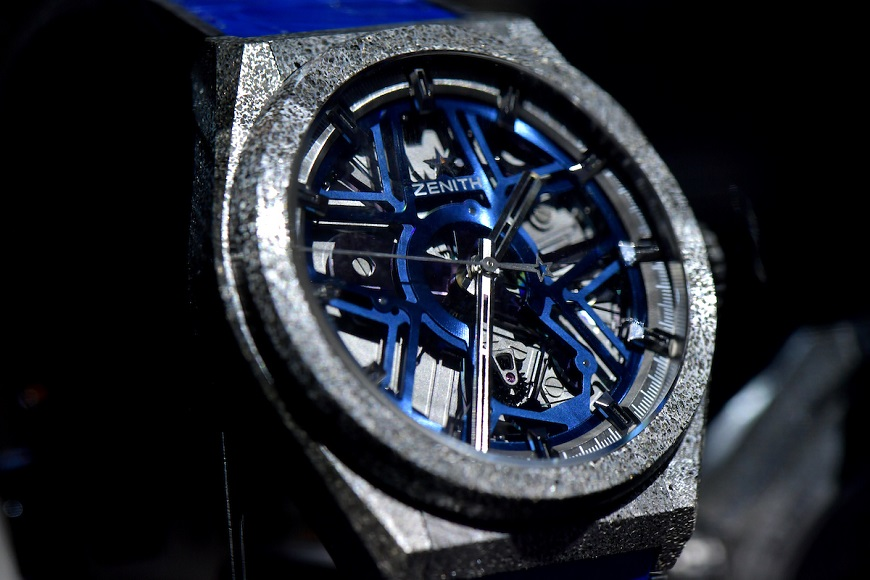 ZENITH Watches DEFY LAB Launch in Le Locle on September 14, 2017.  AFP-Services/HAROLD CUNNINGHAM