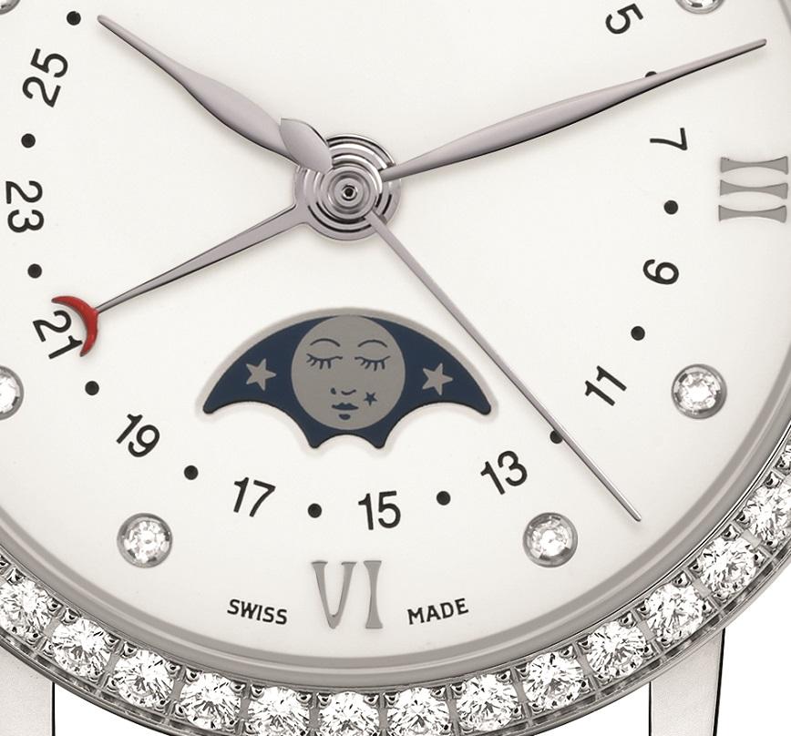 Blancpain Velvet Moonphase detail