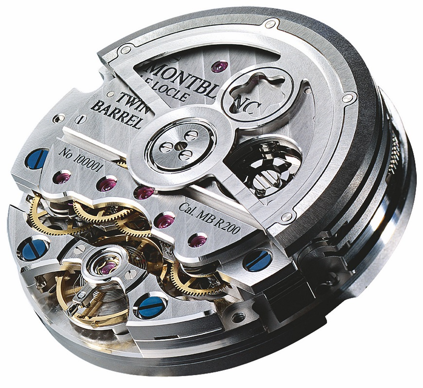 De Montblanc Star Legacy Nicolas Rieussec Chronograph (Ref.  118537) heeft automatisch uurwerk kaliber MB R200