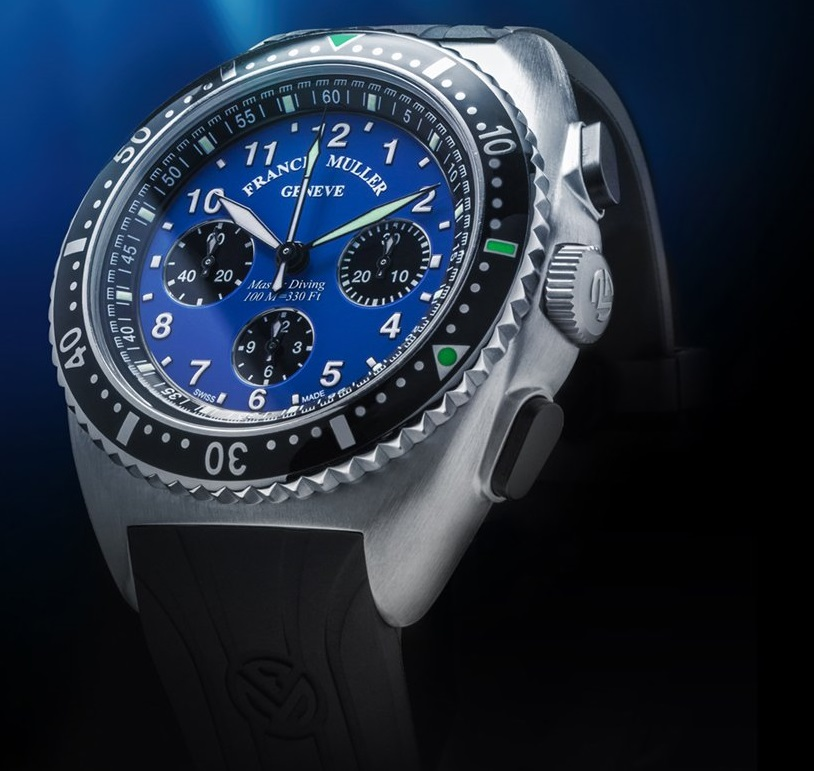 Franck Muller Master Diving France Limited Edition