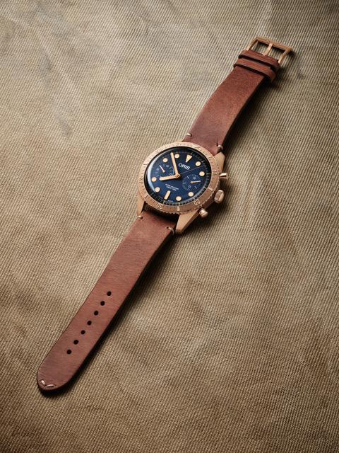 Oris Carl Brashear Chronograph Limited
