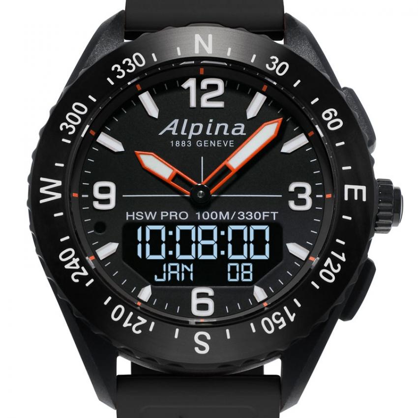 Alpina AlpinerX in met oranje
