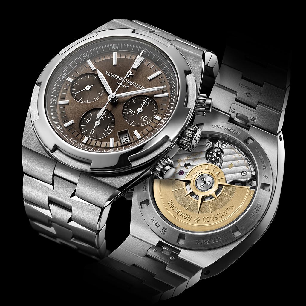 De Overseas Chronograph draagt het Zegel van Geneve