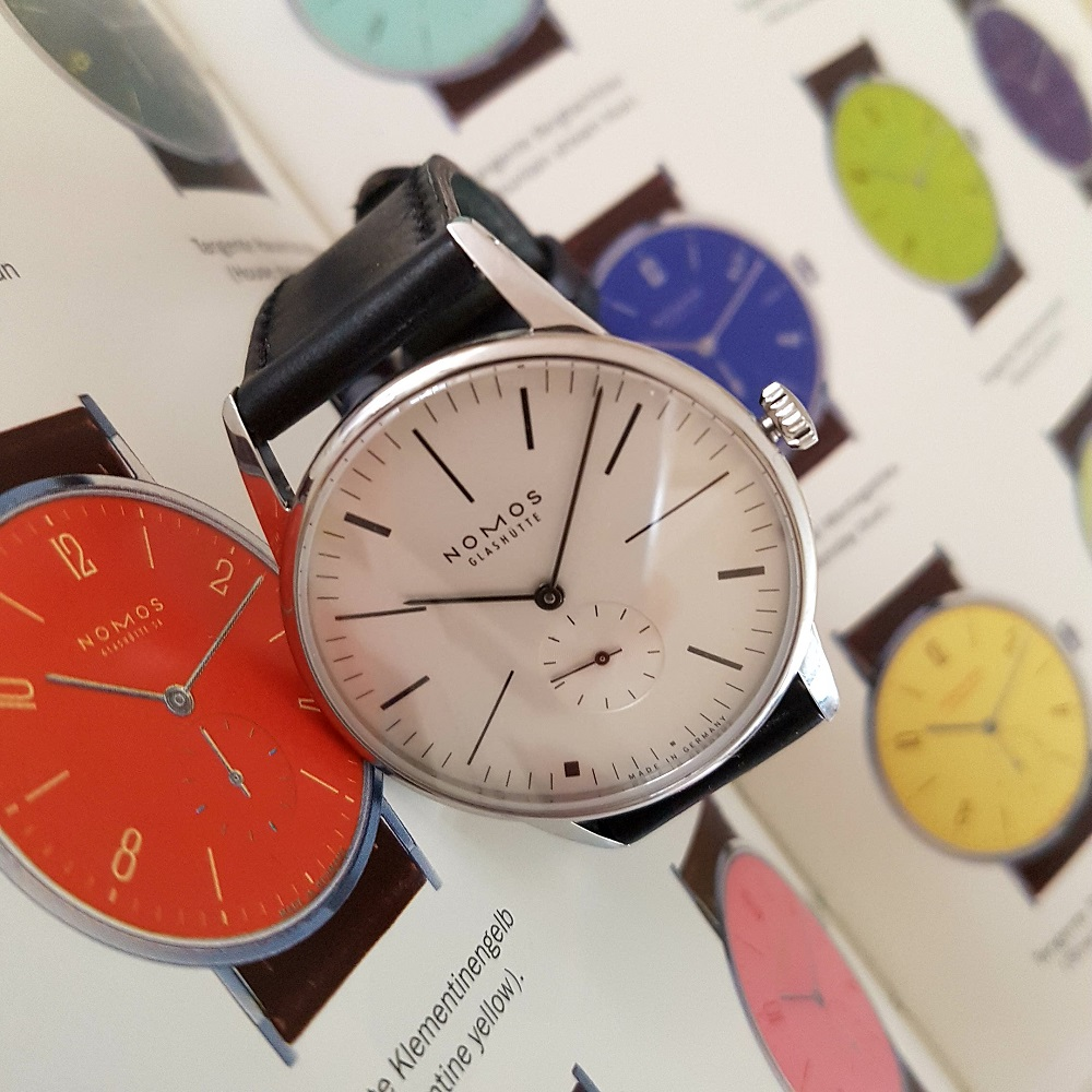 Ace x Nomos Limited Edition Orion 100 Years De Stijl tussen soortgenoten in de catalogus
