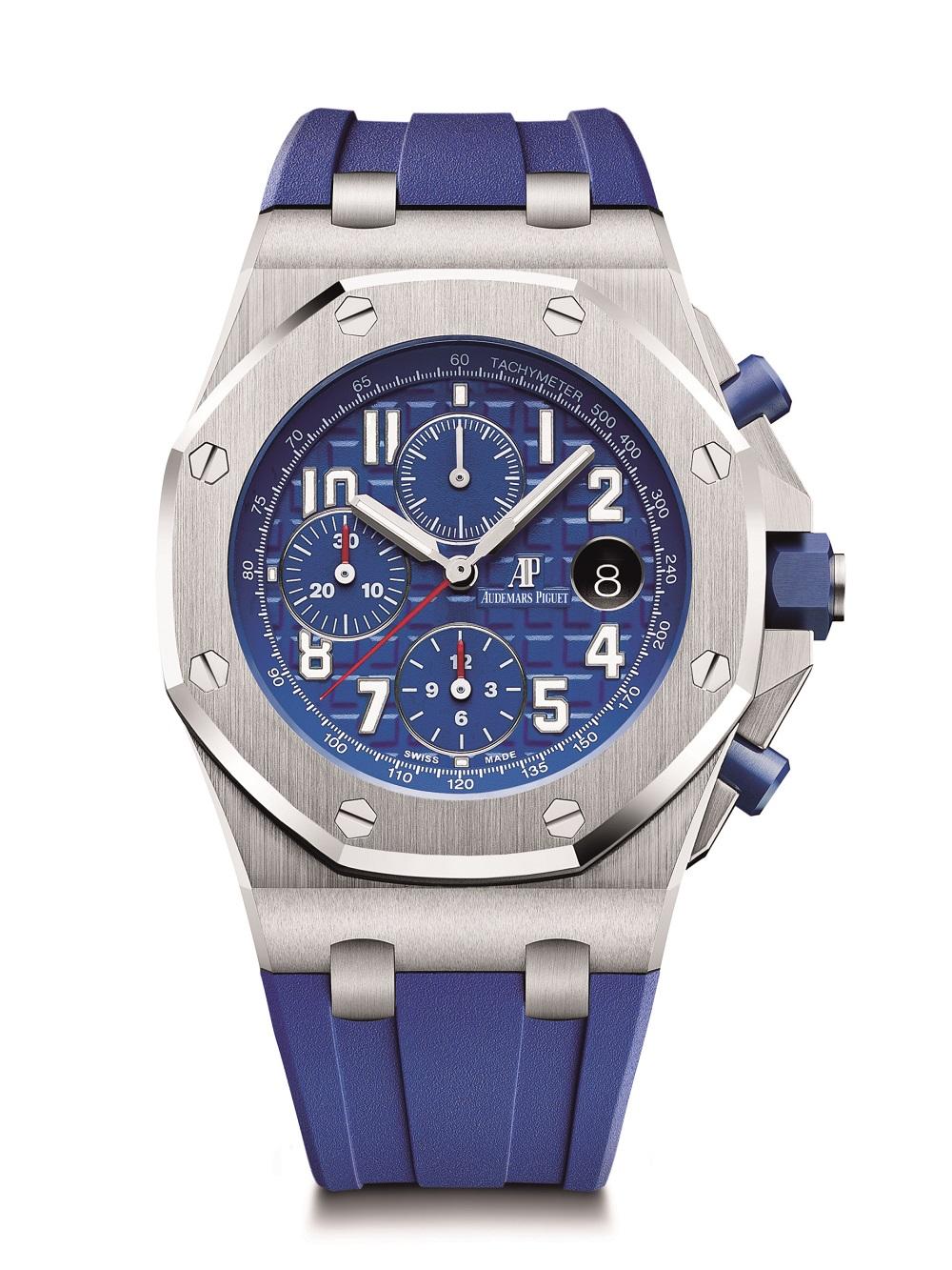 Net als in 1993 maar dan met moderne kwaliteiten: Audemars Piguet Royal Oak Offshore Chronograph