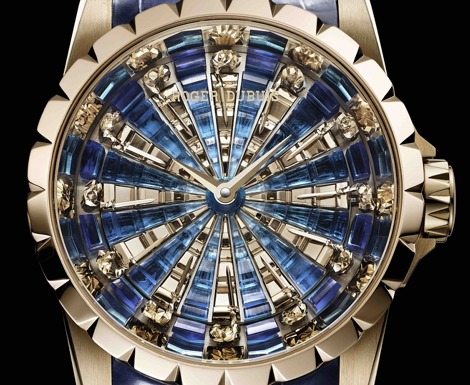 De 12 ridders rondom Avalon in de Roger Dubuis Excalibur Knights of the Round Table III