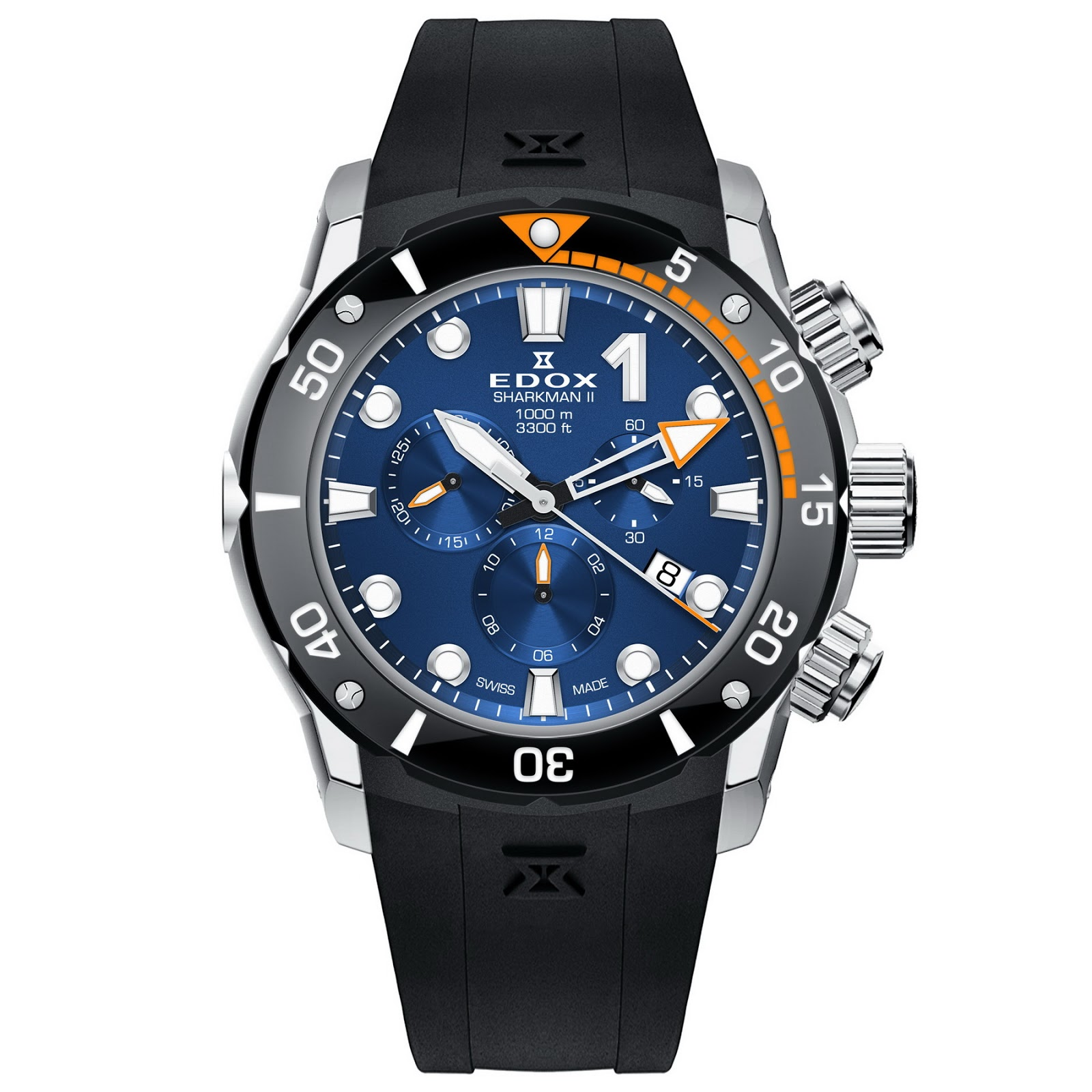 Edox Sharkman II Limited Edition