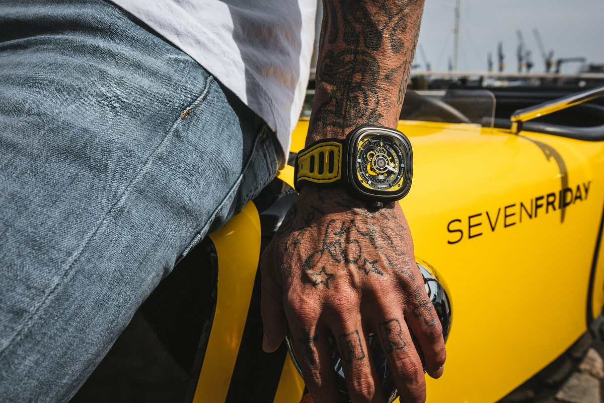 SevenFriday P3B/03 Yellow Racing Team