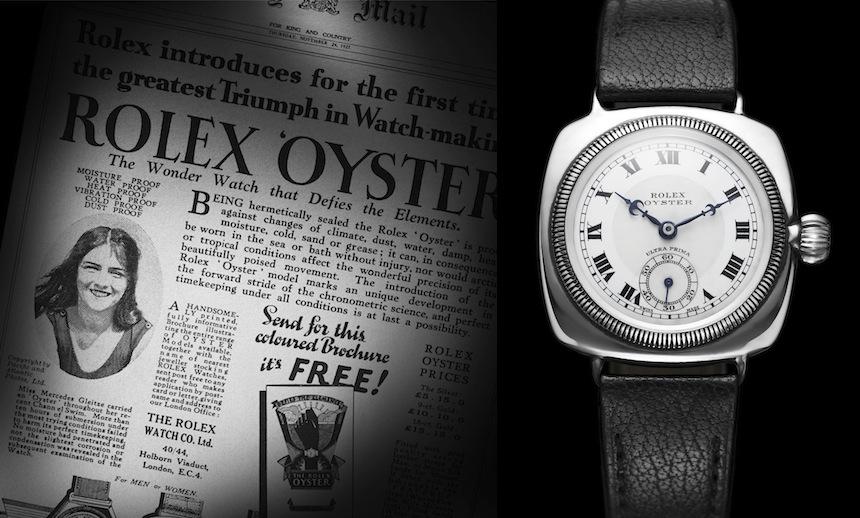 Mercedes droeg een Rolex toen ze in 1927 in het Kanaal dook en richting de overkant zwom