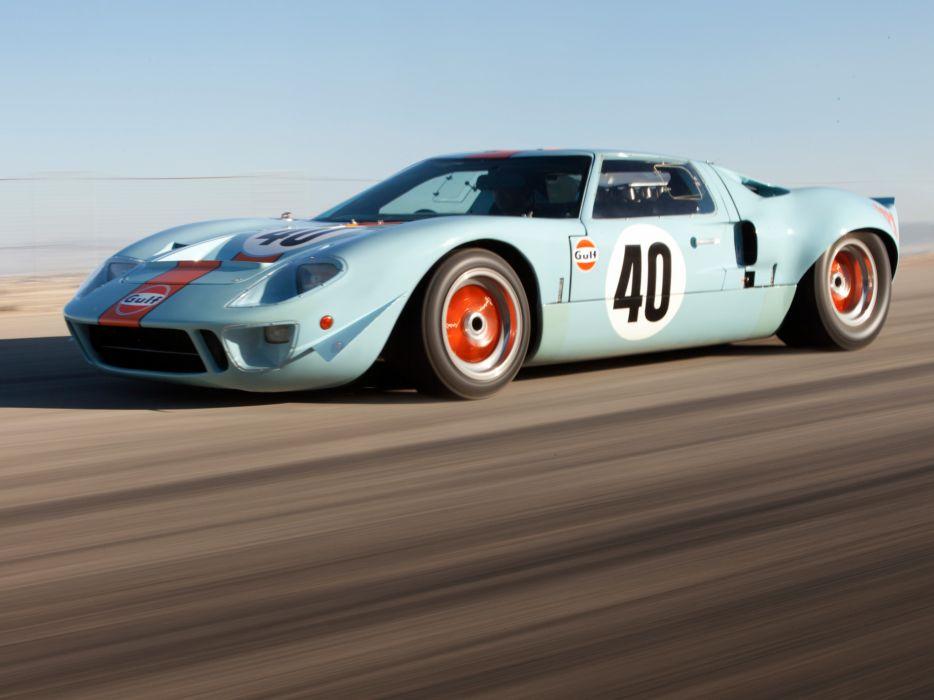 1968 Ford GT40 in Gulf-kleuren