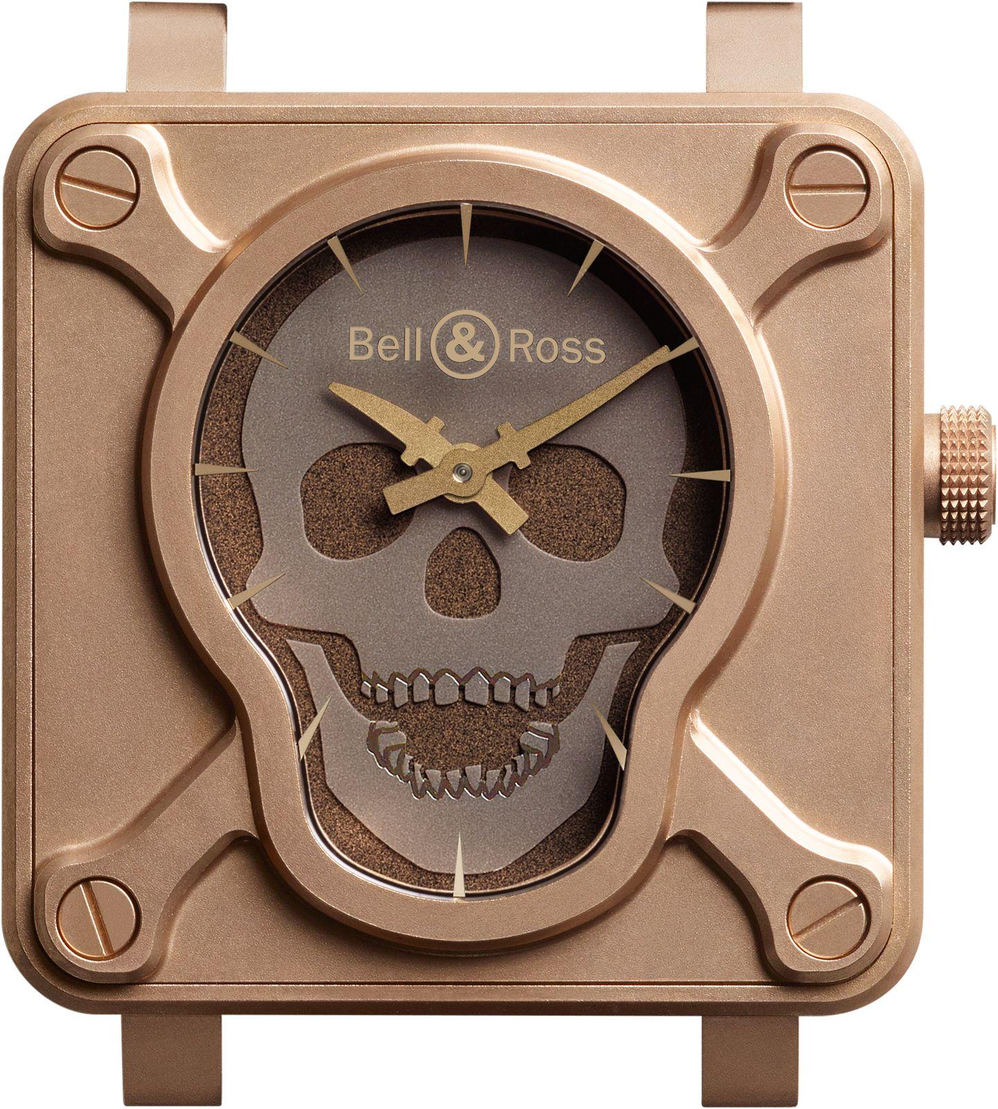 De BR 01 Skull Bronze uit 2015