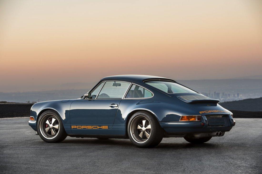 Een door Singer geremixte Porsche om van te watertanden
