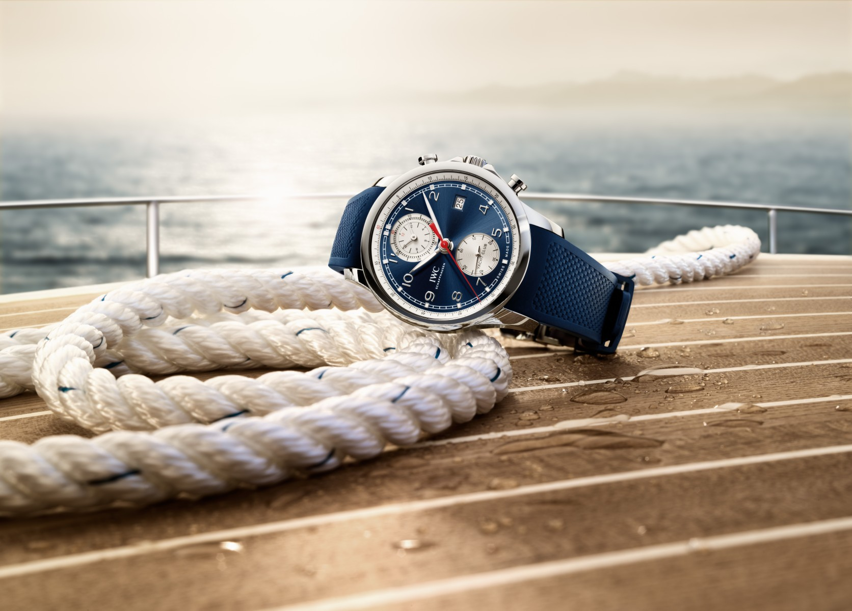 Portugieser Yacht Club Chronograph (Ref. IW390507) on the ropes