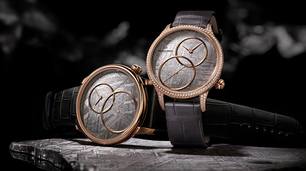 Jaquet-Droz Grande Seconde Off-Centred Minerales 2018 cover