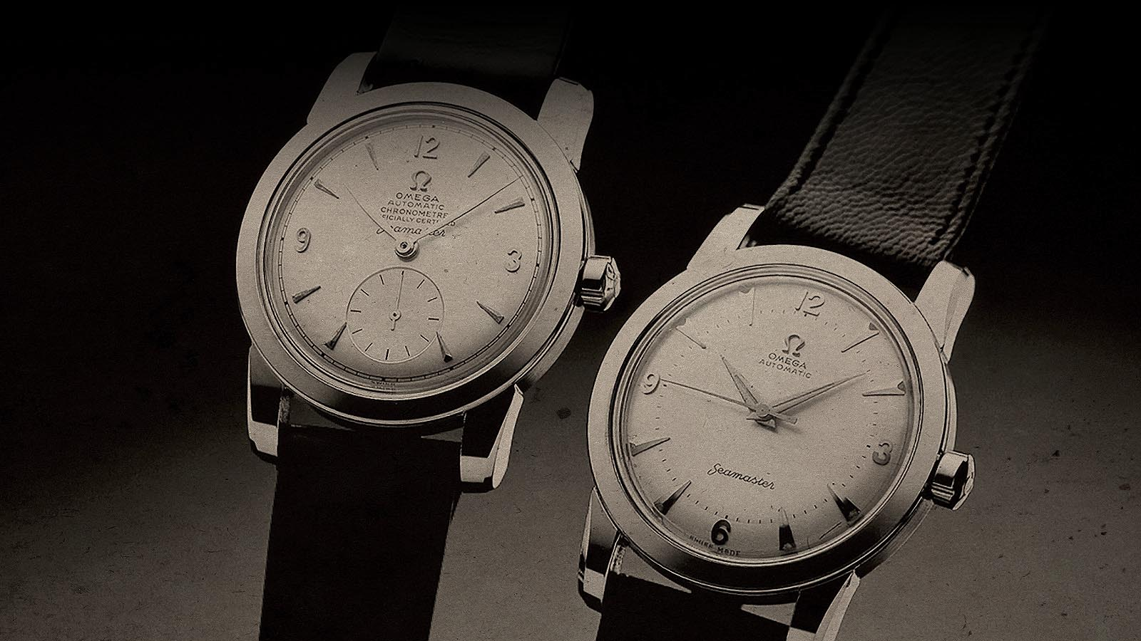 Omega Seamasters from 1948
