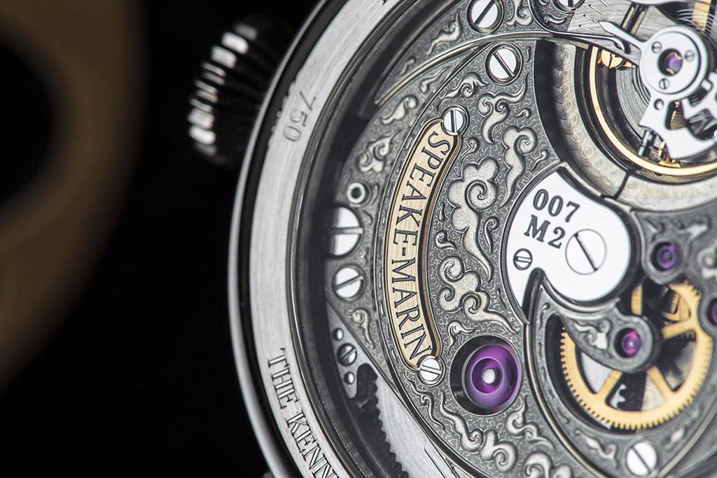 """Ook de uurwerken worden verfraaii in het """"Cabinet des Mystères"""""""